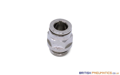 1/4 Bsp To 8Mm Male Stud Push-In Fitting (Nickel Plated Brass) General