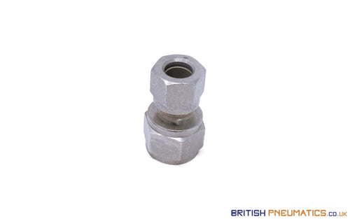 1/4 Female Bsp To 8Mm Stud Compression Fitting (Nickel Plated Brass) General