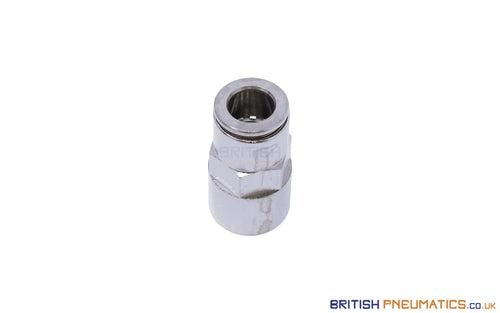 1/4 To 8Mm Female Stud Push-In Fitting (Nickel Plated Brass) General