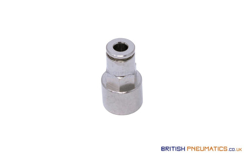 1/8 To 4Mm Female Stud Push-In Fitting (Nickel Plated Brass) General
