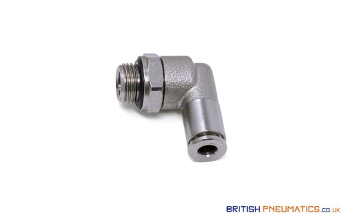 4Mm To 1/8 Bsp Swivel Elbow Push-In Fitting (Nickel Plated Brass) General