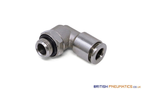 6Mm To 1/8 Bsp Swivel Elbow Push-In Fitting (Nickel Plated Brass) General