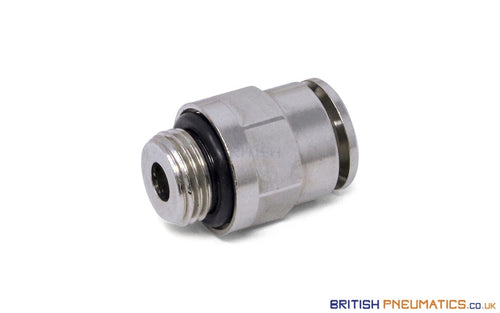 6Mm To 1/8 Straight Parallel Male Stud Push-In Fitting (Nickel Plated Brass) General