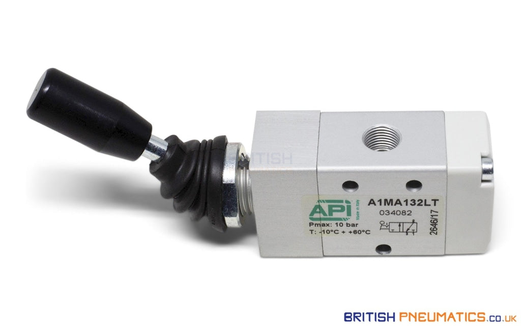 API A1MA132LT Manual Valve 1/8