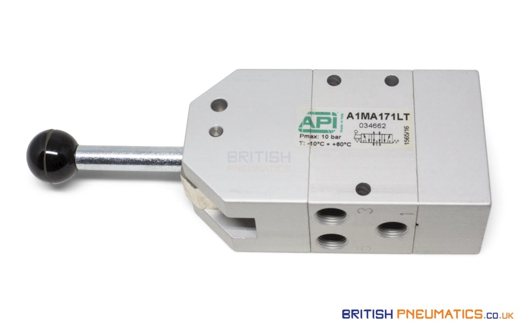 API A1MA171LT Manual Valve 1/8