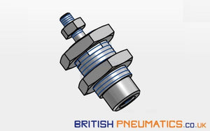 Metal Work CIL CRTC 015-0015-SOO Cartridge Cylinder (W1000150015) 15X15 - British Pneumatics (Online Wholesale)