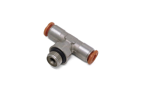 Metal Work Rl32 4-1/8 4Mm To 1/8 Central Tee Male Brass Fitting (2L32002) General