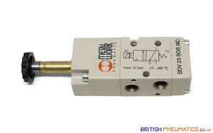 "Metal Work SOV 23 SOS NC Solenoid Valve (7010020200) 1/8"" 3/2 - British Pneumatics (Online Wholesale)"