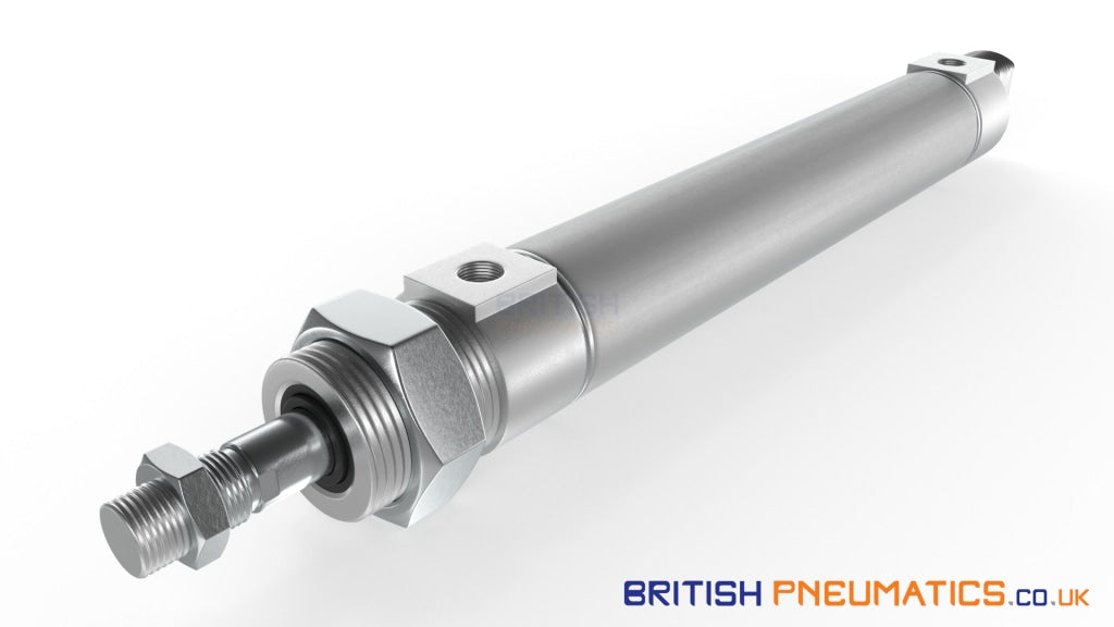 Mindman LB-MCMI-20 Minature Pneumatic Cylinder (ISO6432) - British Pneumatics (Online Wholesale)