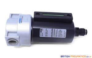 "Mindman MAF401-15A-D Air Filter Auto Drain 1/2"" BSP - British Pneumatics (Online Wholesale)"