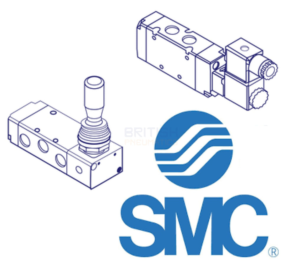 Smc Syj5123-4Do-C6-Q-S Solenoid Valve General