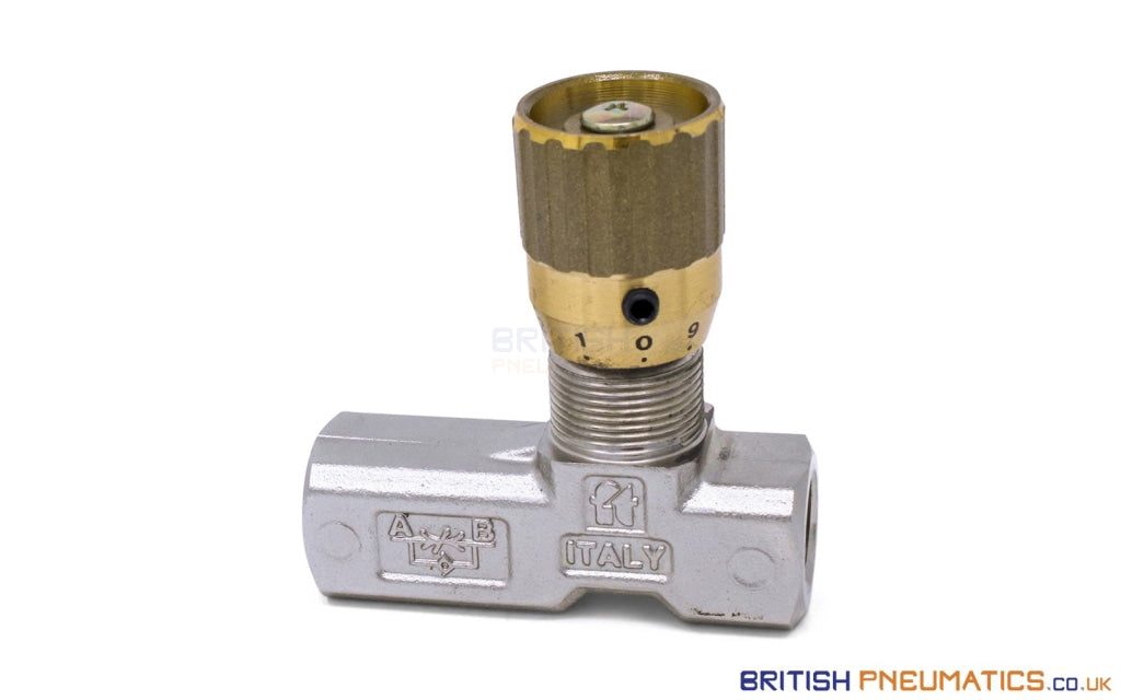 Tognella 1251/5-01-14 | 1-Way Hydraulic Flow Regulator 1/4