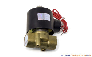 "Uni-D UD-10 1/2"" Solenoid Valve for Water and Steam DC24v - British Pneumatics (Online Wholesale)"