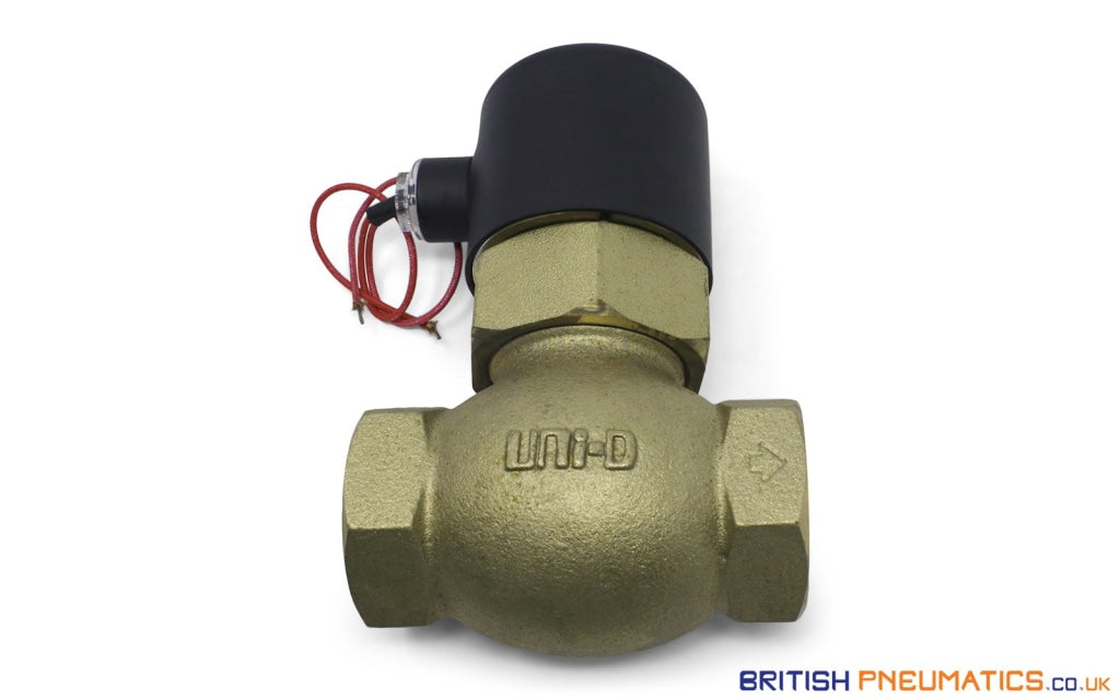 Uni-D US-35 (AC220V/DC24V) Solenoid Valve for Water & Steam - British Pneumatics (Online Wholesale)