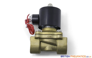 "Uni-D UW-20 AC24V Solenoid Valve for Water and Steam (3/4"") - British Pneumatics (Online Wholesale)"