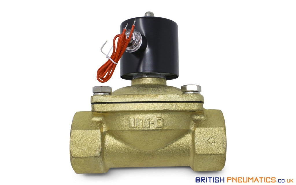 Uni-D UW-50 AC220V Solenoid Valve for Water and Steam (2
