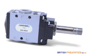 "Univer AG-3003 Poppet Valve for Vacuum, 1/4"" - British Pneumatics (Online Wholesale)"