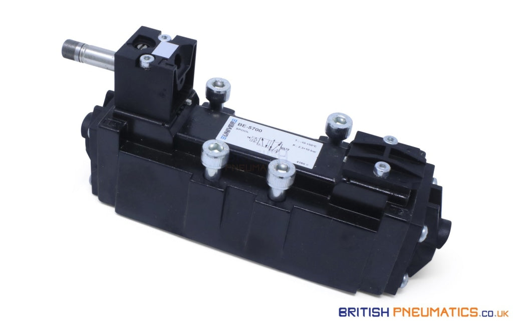 Univer BE-5700 (U1) ISO5599 Valve - British Pneumatics (Online Wholesale)