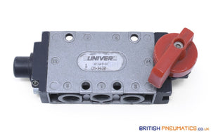 Univer CM-9430 Rotating Lever Mechanical Spool Valve - British Pneumatics (Online Wholesale)