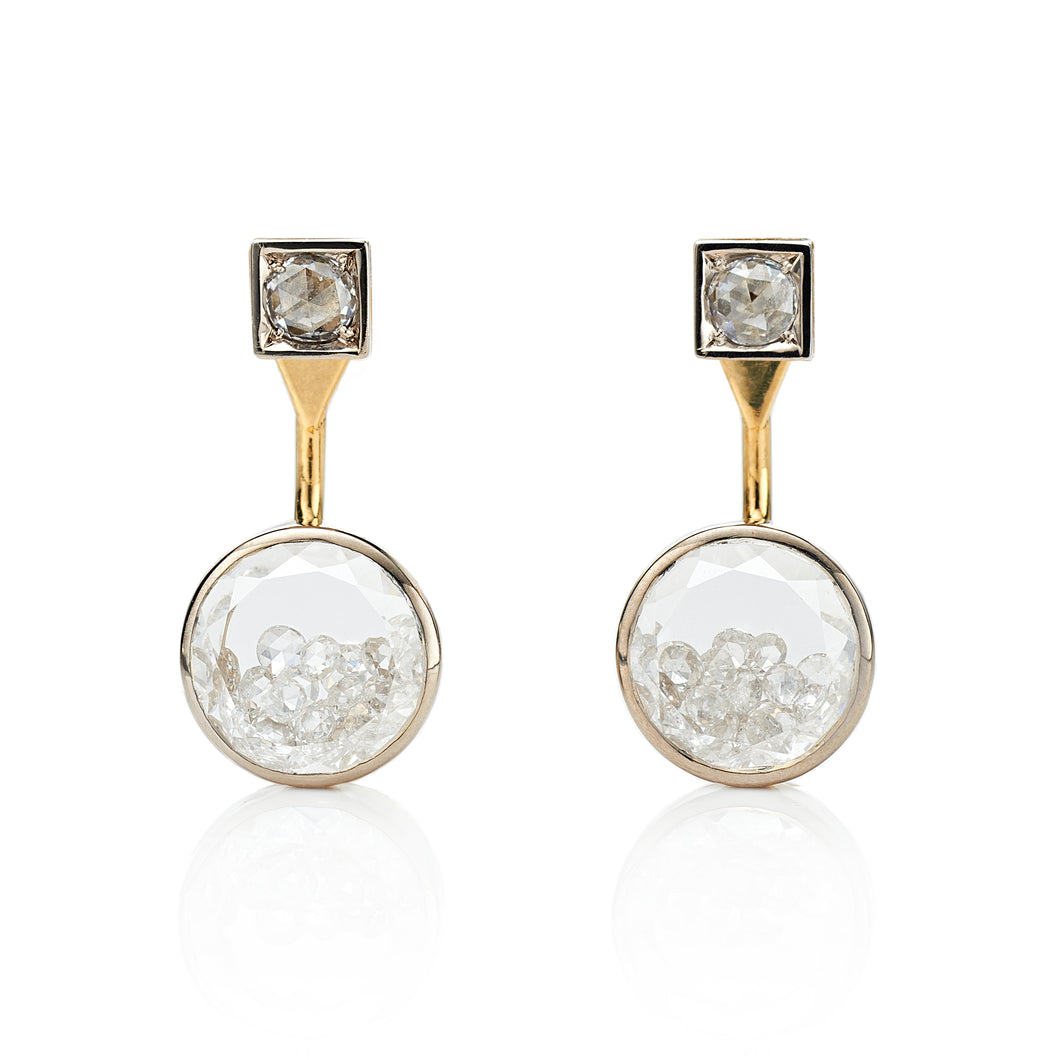 Voa Rose Cut Earrings