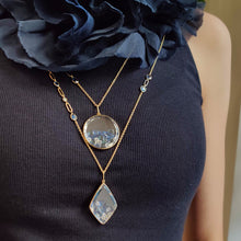 Load image into Gallery viewer, Blue Kite Shaker Necklace