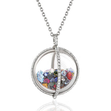 Load image into Gallery viewer, Multicolor Globe Shaker Pendant
