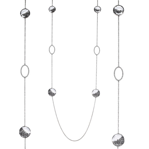 Shaker by The Yard Gray Diamond Necklace