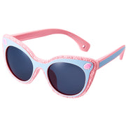 DUCO TPEE Kids Sport Polarized Sunglasses For Kids Boys Girls Rubber Flexible Frame Sunglasses UV Protection