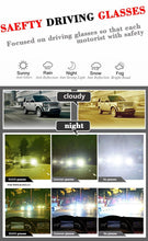 Load image into Gallery viewer, Duco Night Driving Glasses for Headlight Anti-glare Night Time Yellow Lenses 3029