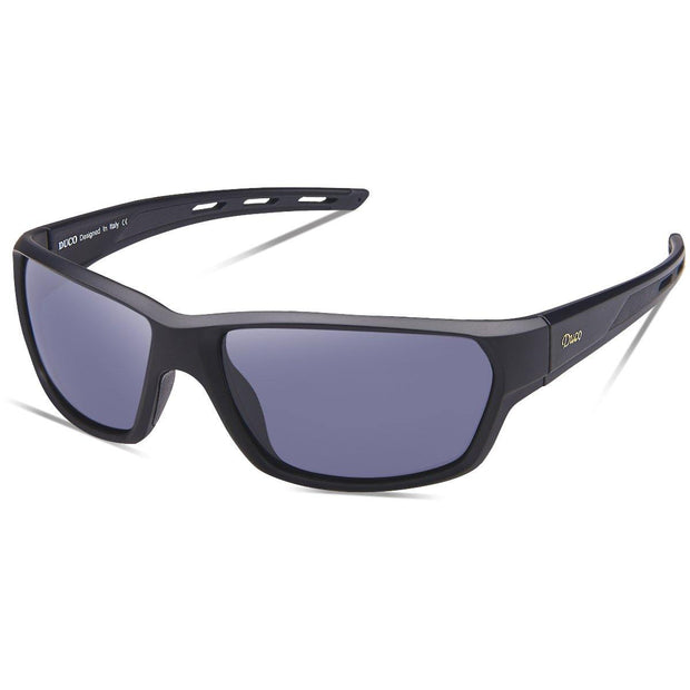 DUCO Polarized Sports Running Baseball Cycling TR90 Superlight Frame Sunglasses for Men 6201