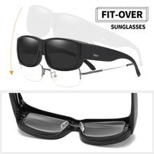 Load image into Gallery viewer, Duco Unisex Wear Over Prescription Glasses Rx Glasses Polarized Sunglasses 8956