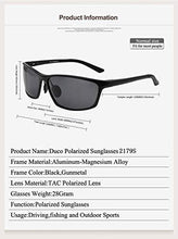 Load image into Gallery viewer, DUCO Men's Polarized Sunglasses for Driving 100% UV 400 Protection 2179S