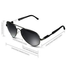 Load image into Gallery viewer, DUCO Premium Pilot Style Polarized Sunglasses 100% UV protection 3026