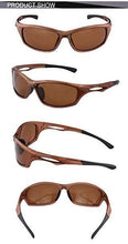Load image into Gallery viewer, DUCO Polarized Sunglasses for Running Cycling TR90 Unbreakable Frame 6199