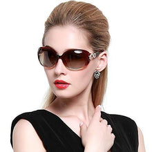 Load image into Gallery viewer, DUCO Shades Classic Oversized Polarized Sunglasses for Women 100% UV Protection 1220