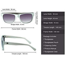 Load image into Gallery viewer, DUCO Classic Vintage Style Polarized Sunglasses For Men And Women 2145