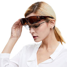 Load image into Gallery viewer, Duco Unisex Wear Over Prescription Glasses Rx Glasses Polarized Sunglasses 8953