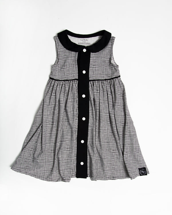 SWING DRESS WITH LAPEL