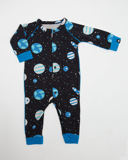 PIPED ROMPER - SPACE