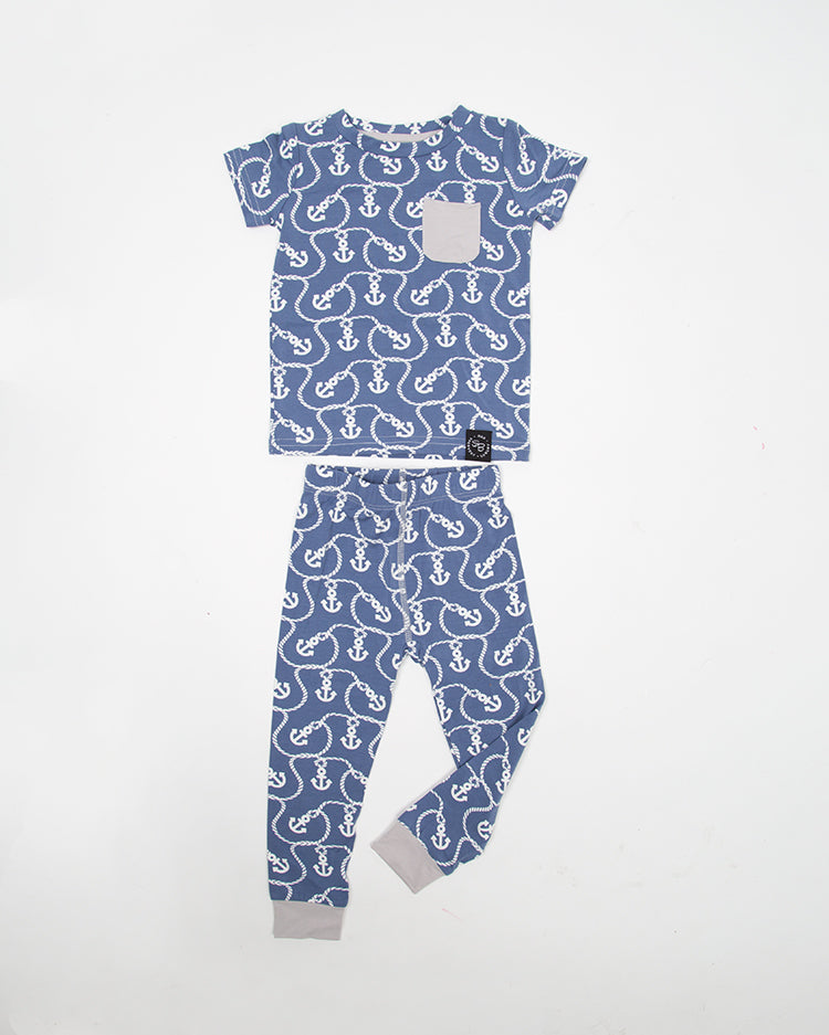 BIG KID PAJAMAS – ANCHOR TOP & BOTTOM