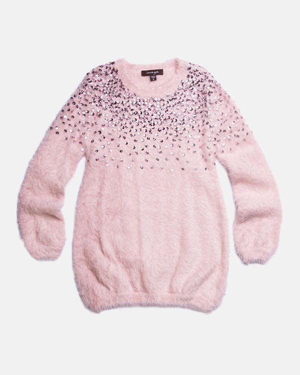 DAISY SEQUINED SWEATER
