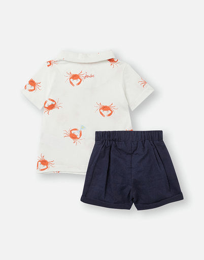 CRABY POLO AND SHORT