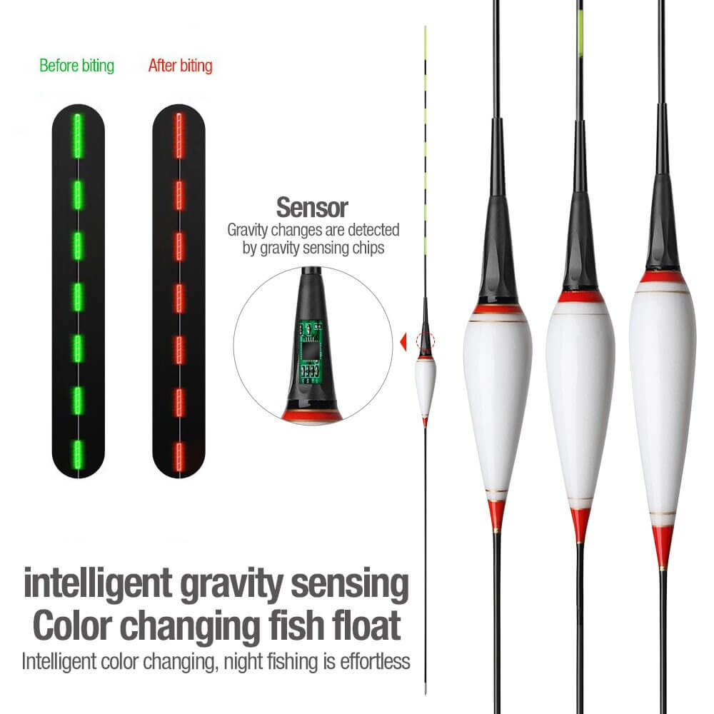 E-Float® LED Light Fishing Float with Gravity Sensor