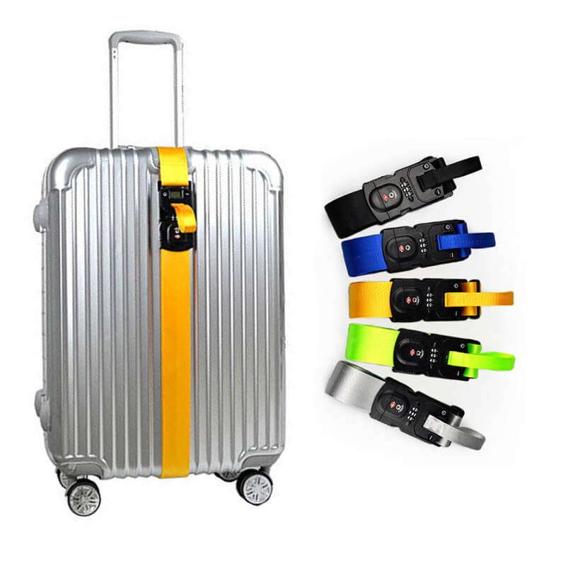 T-LOCK® 3in1 Adjustable Safety Luggage Belt
