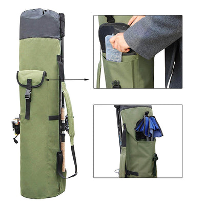FiRo® All in One - Portable Fishing Rod & Tackle Bag