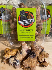 Blueberry Bites Dog Treats