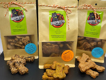 Load image into Gallery viewer, Hairy Paw-ter Dog Treats (grain/gluten free)
