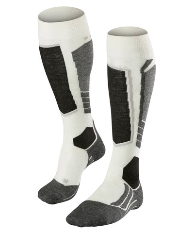 FALKE SK2 WOOL Ski Socks Off White