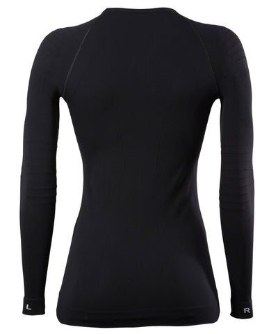 FALKE Long Sleeve Thermal Shirt Tight Black