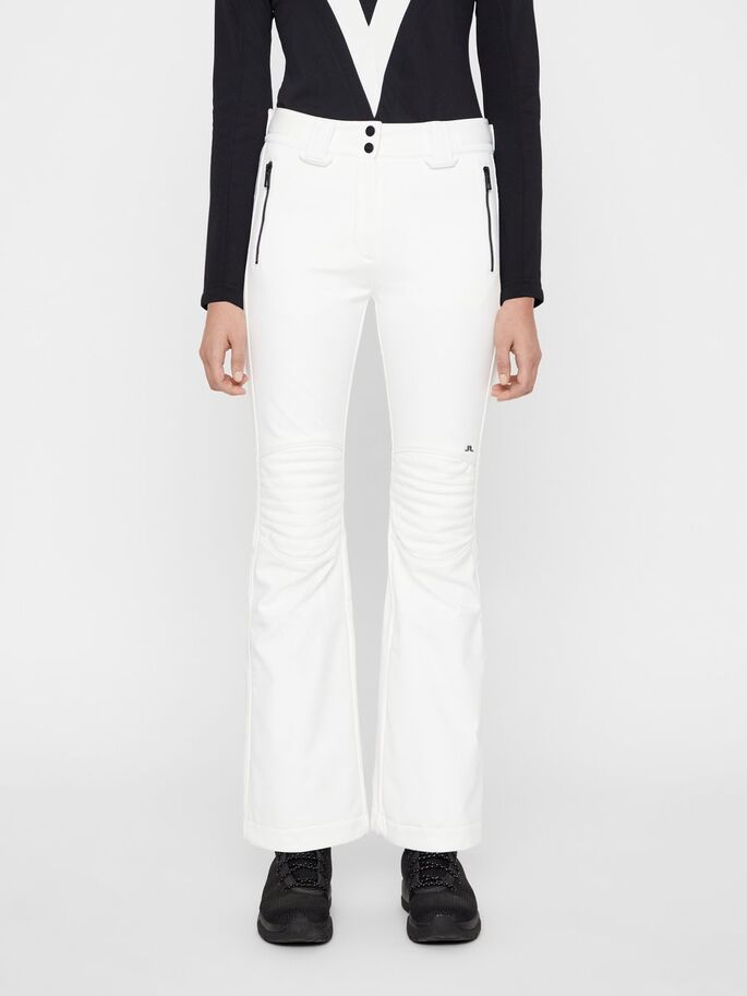 J.LINDEBERG Stanford Soft Shell Primaloft Trousers White
